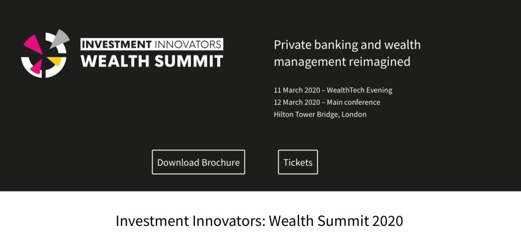 Dolfin CEO to speak at Wealth Summit 2020 | Dolfin